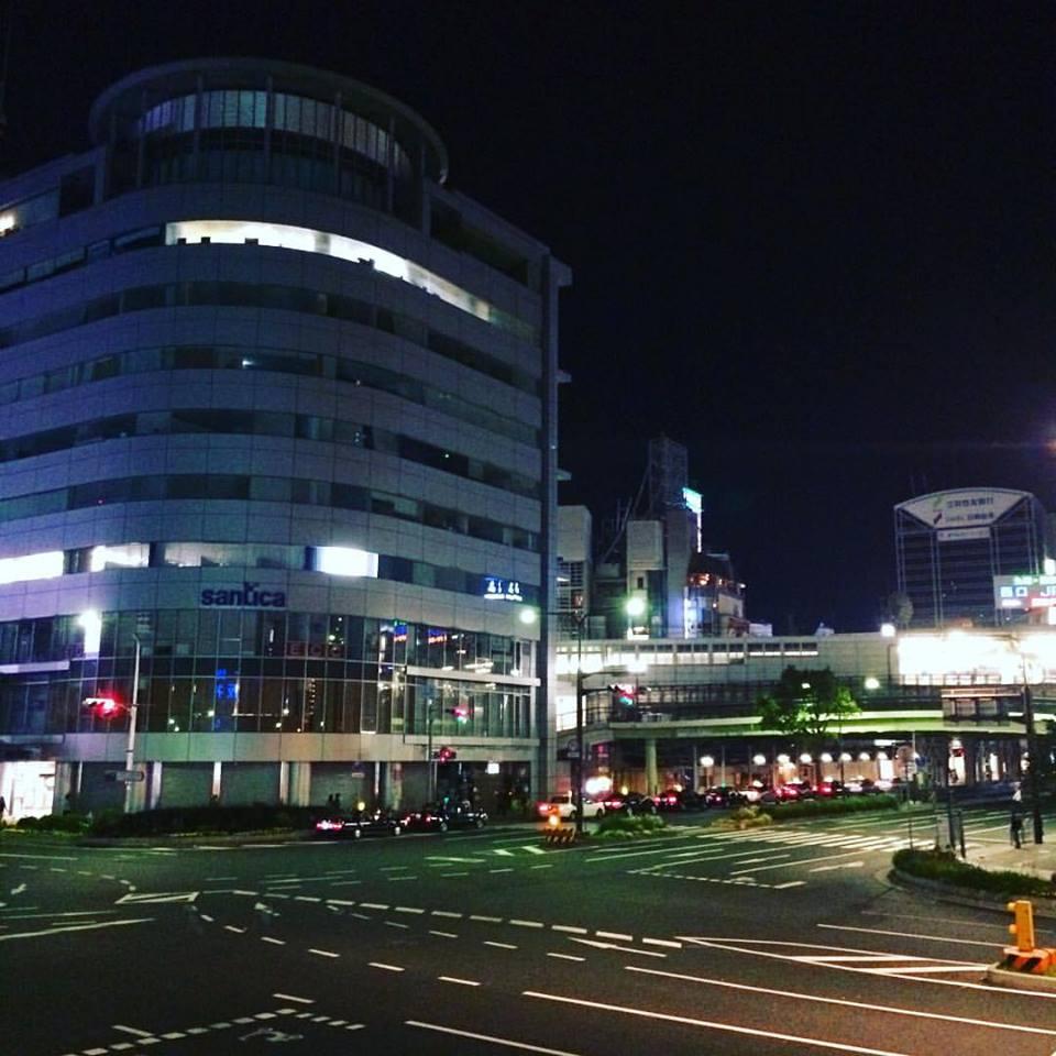 三ノ宮の夜