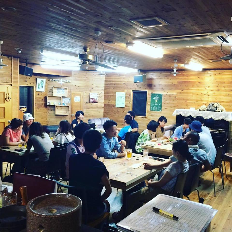 井口と高田の晩飯屋